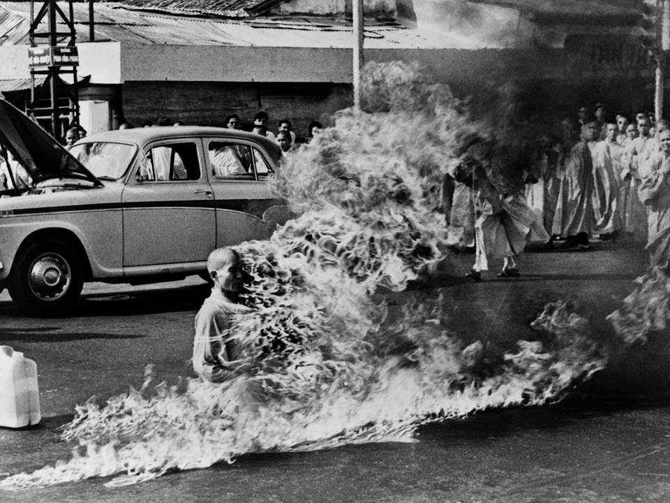 Compassion in the face of hate - self-immolation
