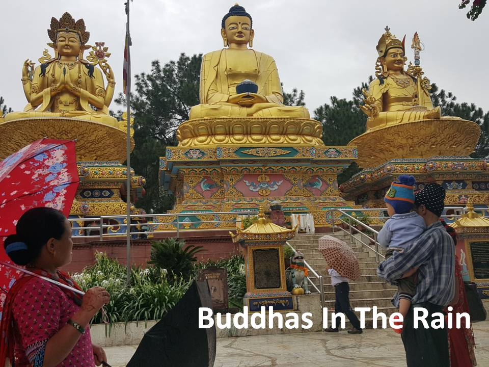 Trip To India 2016 - Buddhas in the Rain 160725