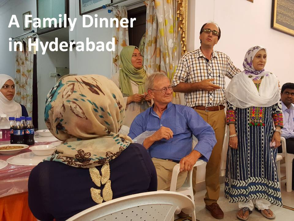 Trip To India 2016 - Family Dinner in Hyderabad 160726
