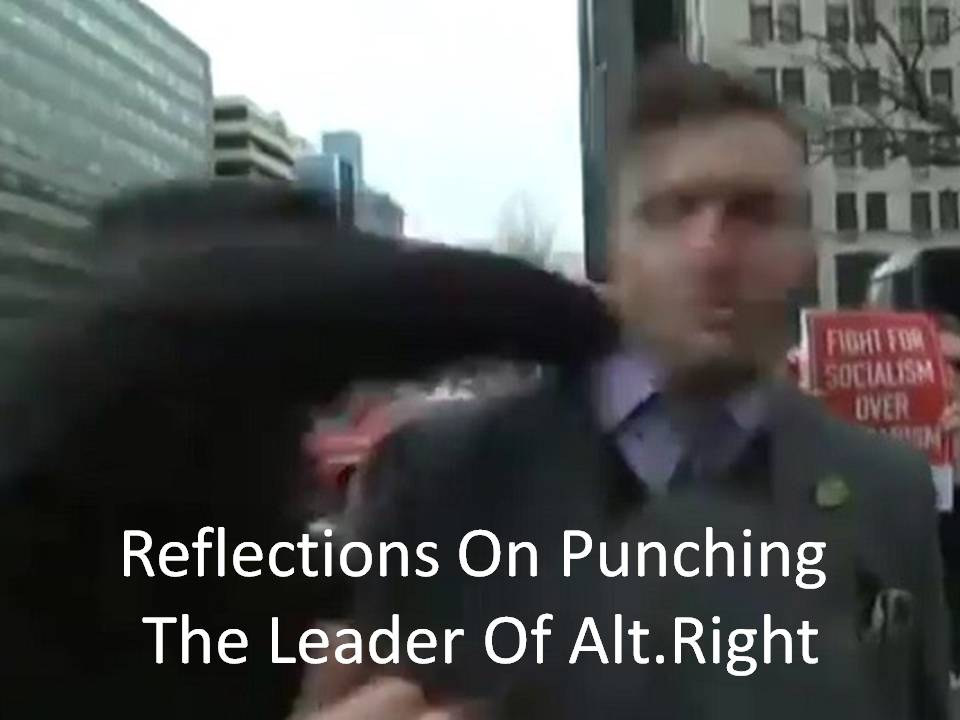 Violence Punch Spencer Alt Right